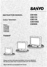 Buy Sanyo C-21EF57B Television Operating Guide by download Mauritron #325305