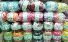Buy WHOLESALE LOTS 6 ROLL NATURAL JUTE ROPE THREAD YARN LINE CRAFT JEWELRY SCRAPBOOK