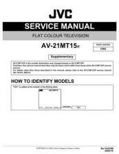 Buy JVC AV-21LX2-3 Service Manual by download Mauritron #279631