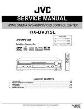 Buy JVC RX-DV31SL Service Manual by download Mauritron #283275