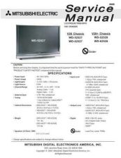 Buy Mitsubishi V28 LCD Service Manual by download Mauritron #323437