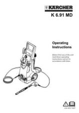 Buy Karcher K691 Washer Operating Guide by download Mauritron #315581