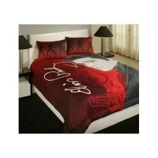 Buy Elvis Presley Bedding Comforter Queen Pillows Shams Guitar Bedroom Home Bed Red