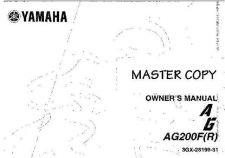 Buy Yamaha 3GX-28199-31 Motorcycle Manual by download #334101