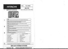 Buy Hitachi AX-C10 Service Manual by download Mauritron #288563
