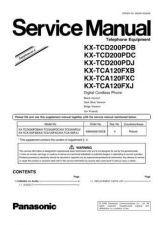 Buy Panasonic TCD200PD_4 Manual by download Mauritron #301951