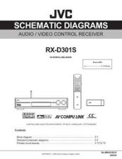 Buy JVC RX-D301S-3 Service Manual by download Mauritron #276540