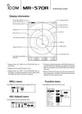 Buy Icom MR-1000R2 T2 Marine Operating Guide by download Mauritron #317484