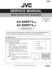 Buy JVC AV-36F702 Service Manual by download Mauritron #279969