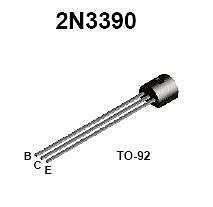 Buy Transistor - 2N3390 NPN General Purpose Amplifier - 20 Pieces