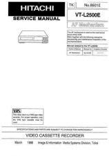 Buy Hitachi VT-88A-2 Service Manual by download Mauritron #287108