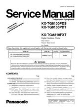 Buy Panasonic KX-TGA717FXS Manual by download Mauritron #300613