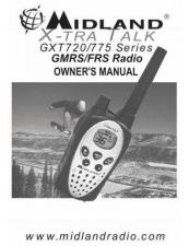 Buy Midland GXT720 2 Way Radio Operating Guide by download Mauritron #317552