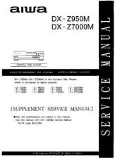 Buy JVC DX-Z950M-Z7000M Service Manual by download Mauritron #280290