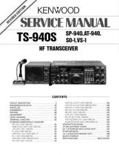 Buy Kenwood TS940 Service Manual by download Mauritron #306083