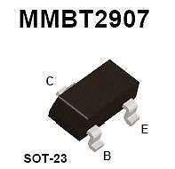 Buy SMT Transistor - MMBT2907 PNP (SOT-23) - 35 Pieces