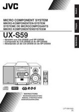 Buy JVC UX-S59-6 Service Manual by download Mauritron #277250