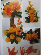 Buy Fruit Carving Book Basic to Learn Veg Hand Carved Flower Animal Shaped Eng Words
