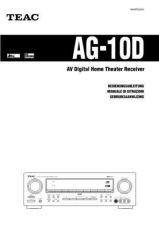 Buy Teac AG10DDIN Operating Guide by download Mauritron #318245