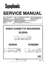 Buy Symphonic 6220VA Service Manual by download Mauritron #331038