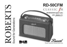 Buy Roberts Revival DAB CFM DAB Radio Operating Instruction Guide by download Mauritron #