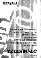 Buy Yamaha 5HD-28199-30 Motorcycle Manual by download #334420