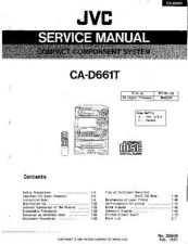 Buy JVC CA-M30BK Service Manual by download Mauritron #280110