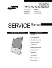 Buy Samsung LTM1525X Service Manual by download Mauritron #322608