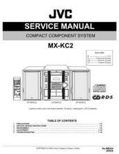 Buy JVC MX-KC2-5 Service Manual by download Mauritron #282982