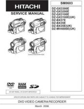 Buy Hitachi DZ-GX20A Service Manual by download Mauritron #289939