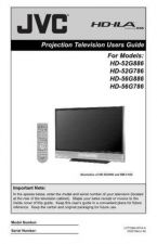Buy JVC HD-52G786[[][][][][][ Service Manual by download Mauritron #281082