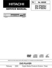 Buy Hitachi DVP745U Service Manual by download Mauritron #289899