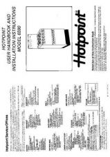 Buy Hotpoint HB6590 Operating Guide by download Mauritron #312056
