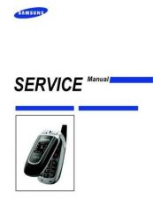 Buy Samsung SGH-Z140 Mobile Phone Service Manual by download Mauritron #306486