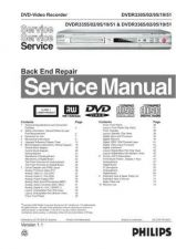 Buy Philips 3365-51 Recorder Service Manual by download Mauritron #315681