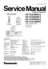 Buy Panasonic KX-TCD200NLC Manual by download Mauritron #299993