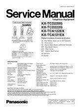 Buy Panasonic KX-TCA121FXF- Manual by download Mauritron #299696