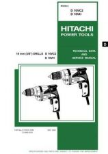 Buy Hitachi D10VH Tool Service Manual by download Mauritron #319785