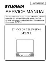 Buy Emerson 6427FE Service Manual by download Mauritron #330545