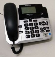 Buy BIG NUMBER button UNIDEN D3098 S tele phone large giant LCD key pad speaker CID
