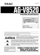 Buy Teac AGV8520EF Operating Guide by download Mauritron #318325