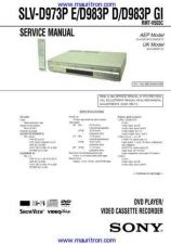 Buy Sony SLV-D983P Manual by download Mauritron #327126