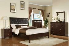 Buy NEW QUEEN BEDROOM SET 5 PC MODERN STYLE BED BEDROOM COLLECTION FURNITURE #F9170