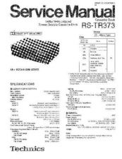 Buy Sharp RS-TR373 Manual by download Mauritron #298520