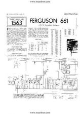 Buy FERGUSON. 661. Vintage Wireless. Service Sheets. by download Mauritron #327473