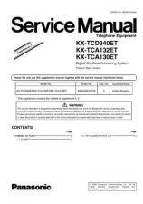 Buy Panasonic TCD340E_3 Manual by download Mauritron #302112