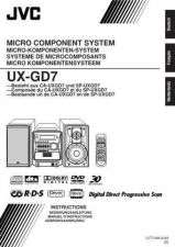 Buy JVC UX-GD7-6 Service Manual by download Mauritron #277190