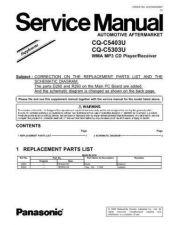 Buy Sharp CQ-C5303U-3 Manual by download Mauritron #298157