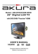 Buy Akura ABLDVD2626W-HDID Service Manual by download Mauritron #330269