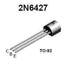 Buy Transistor - 2N6427 NPN Darlington (TO-92) - 15 Pieces
